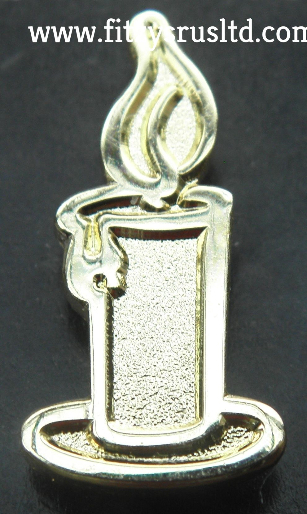 Candle Light Lapel Pin Badge Religious Christian Symbol Candlelight